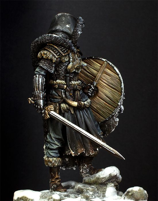 1/24 75mm Northern Wandering Knight 75mm   Toy Resin Model Miniature Resin Figure Unassembly Unpainted