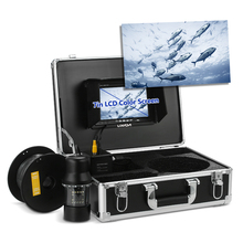 Lixada 7 дюймов монитор, вращающаяся на 360 градусов подводная камера для рыбалки, рыболокатор, рыболокатор, рыболовная камера, 20 м кабель, вилка стандарта ЕС/США