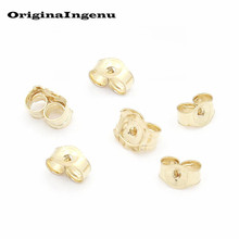 Jewelry Findings Accessories Handmade 14 Gold Filled Earplugs for DIY  Earring Pendientes Jewelry Making 78b6d1d89efe