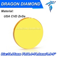 Co2 Laser Focus Lens 19 05mm Dia USA Imported ZnSe Material