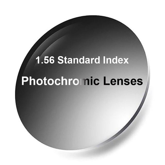 חדש 1.56 Photochromic עדשות ראייה אחת עם אנטי רפלקטיבי ציפוי גימור מהיר ועמוק כהה Chaning ביצועים