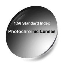 Neue 1,56 Photochrome Einzigen Vision Linsen mit Anti Reflektierende Beschichtung Finish Schnelle und Tiefen, Dunklen Chaning Leistung