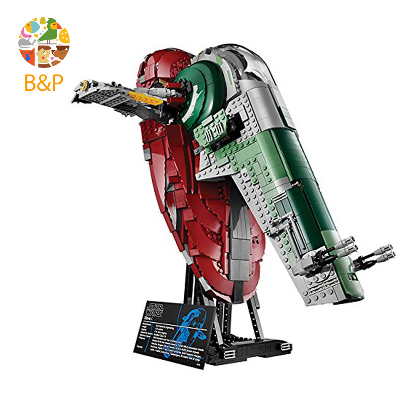lepin Legoing 75060 2067pcs star series wars The UCS Slave Slave NO.1 Building Blocks Brick Educational Toys For Children 05037 lepin legoing 70612 592pcs ninjago series the green ninja mech dragon building blocks brick educational toys for children 06051