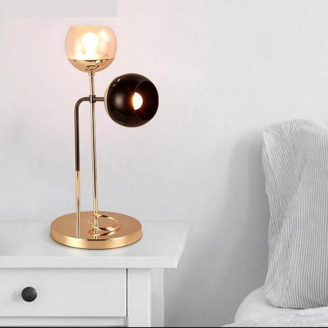 Restaurat Art decor stained Glass Table Lamp light for Living Room Bedside  North European Post Modern standing cup Lamp Abajur