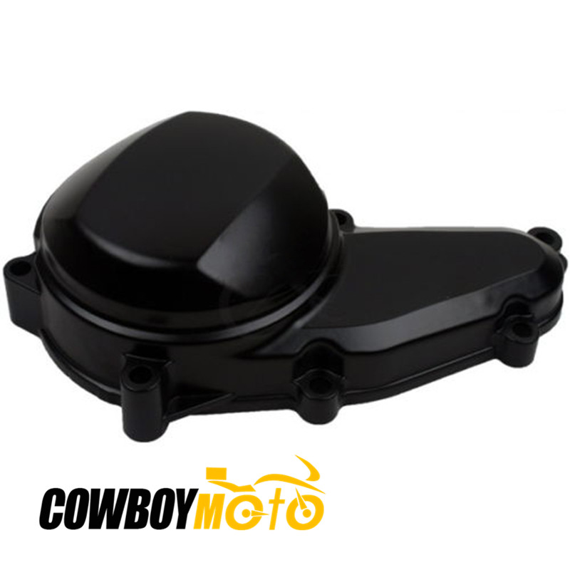 Motorcycle Black Right Engine Starter Cover Crankcase For YAMAHA FZR400 FZR 400 1989 - 1994 90 91 92 93