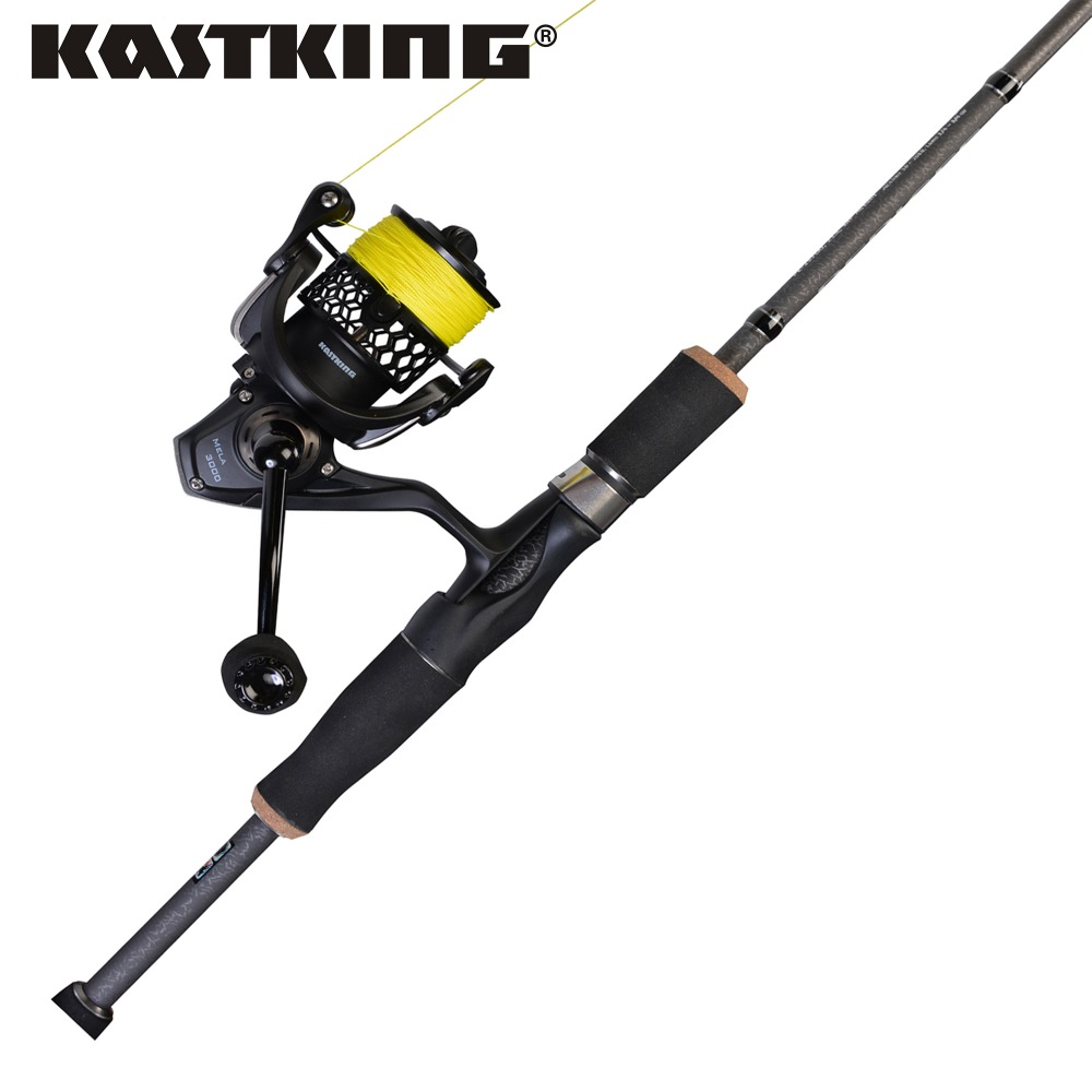 KastKing 1.98M 2.10M 2.40M Carbon Fiber Spinning Fishing Rod Medium Fast Action Lure Fishing Rod Pole