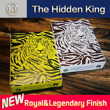 1Pcs The Hidden King Amur Tiger Manchurian Tiger Playing Cards Poker Size Deck By TWPCC New Sealed Magic Props(China)