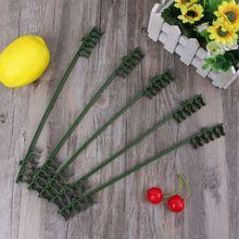5Pcs Plastic Plant Fix Clips Rack Stem Climbing Vine Support Vegetables Flowers Fruit Tied Bundle Branch Gardening Tools