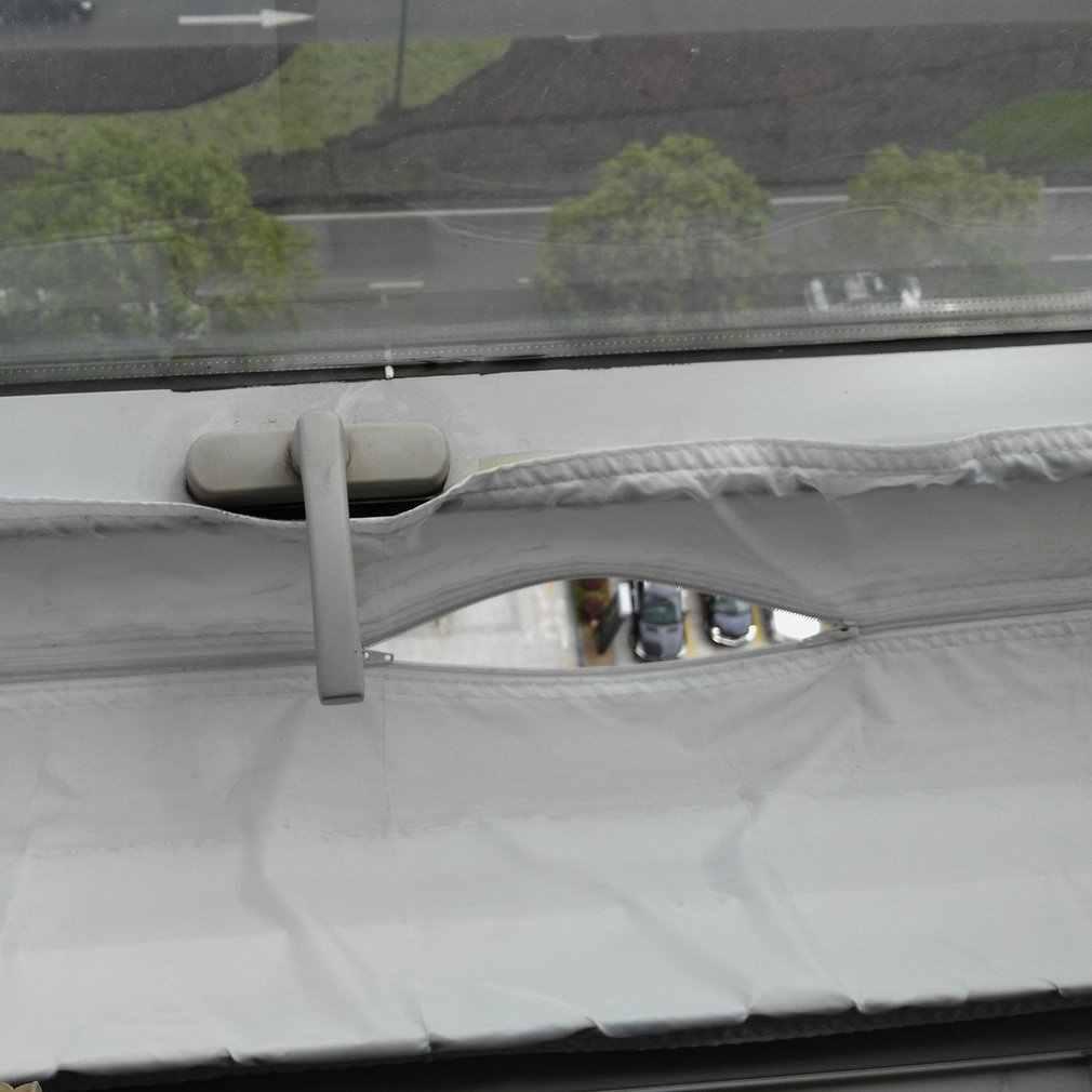 4 м воздушный замок оконный утеплитель матерчатая пластина герметизация для мобильных кондиционеров кондиционеры блоки Водонепроницаемый Мягкий дом гибкий