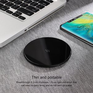 Image 5 - Baseus Qi Wireless Charger For Huawei Mate 20 Pro 10W Fast Wirless Wireless Charging Pad For iPhone 11 Pro Max X Xs Samsung S9