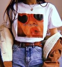 kuakuayu HJN Hey Lolita Hey Lana Del Rey Musical Punk Rock Man Women T-Shirt Summer O-neck Fashion Style Casual Tee Shirt