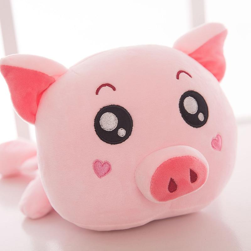 40cm cute plush toy kawaii pink pig plush doll baby lovely hugging pig toy dolls best children birthday gift