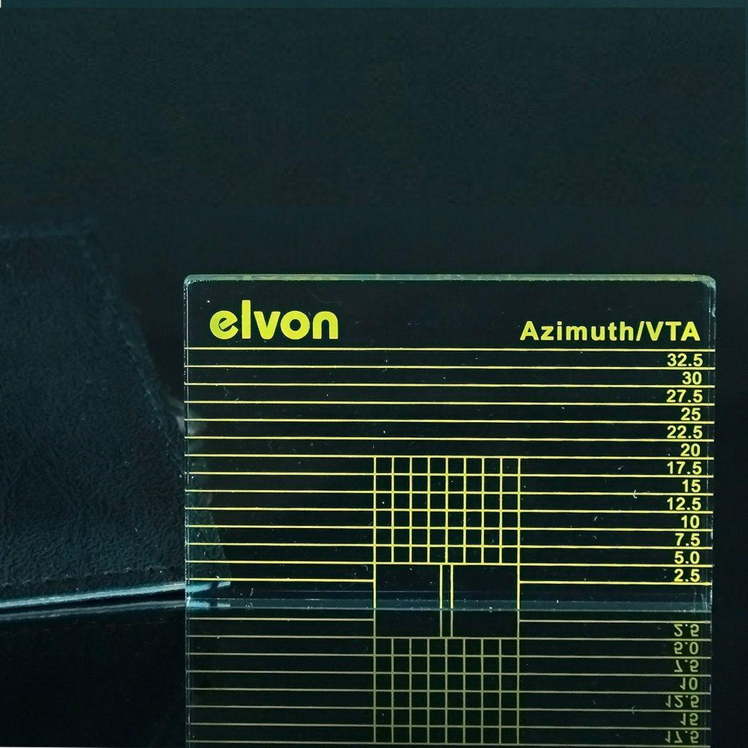 LP Vinyl Record Player Tonearm VTA / Cartridge Azimuth Ruler For Phono Amplifier