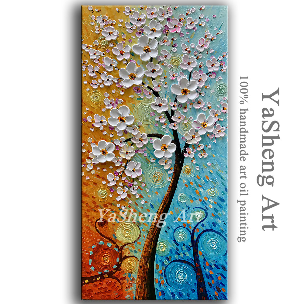 Hand Made Oil Painting Palette Knife Thick Paint White
