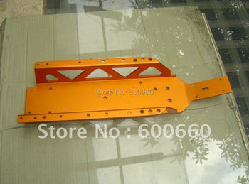 Aluminum Main Chassis - orange free shipping for HPI KM ROVAN