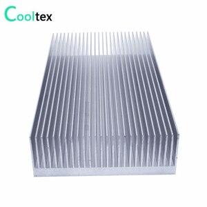 Image 3 - 높은 전력 160x80x26.9mm 라디에이터 알루미늄 히트 싱크 전자 LED 파워 앰프 쿨러 냉각을위한 압출 방열판