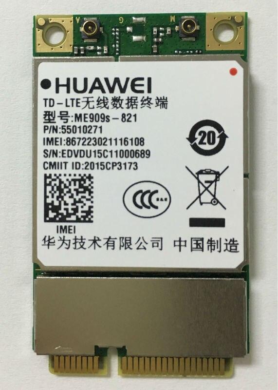 ME909S-821 Hua Wei Mini PCIE LTE TDD/FDD 4G Module pour Application M2M 100% nouveau et Original véritable Emax Stock livraison gratuite