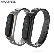 Mi2 Metal Strap for Xiaomi Mi Band 2 Strap Metal Steel Bracelet Screwless Stainless Pulseira Mi Band 2 Wristbands Miband 2 Belt