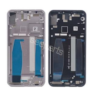 Image 2 - שחור/כסף עבור Asus Zenfone 5 ZE620KL התיכון שיכון מסגרת הלוח הקדמי התיכון החלפה עבור Asus Zenfone 5z ZS620KL התיכון מסגרת
