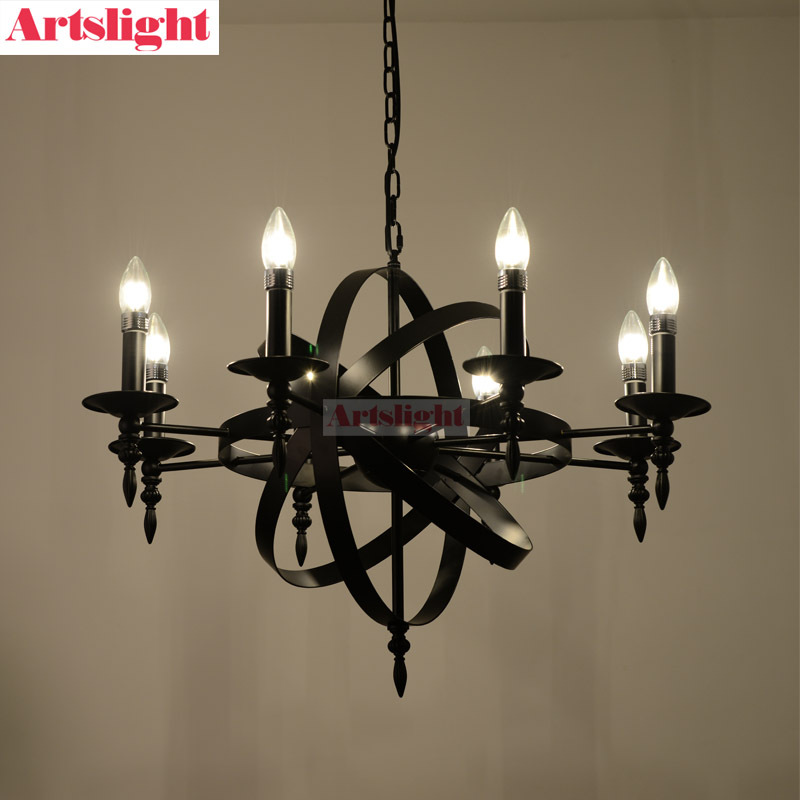 Nordic Artslight After Ikea Restaurant Retro Modern Minimalist Living Room Ideas Black Candle Chandelier Candles At Wholesale Prices Candle Holercandle Can Aliexpress