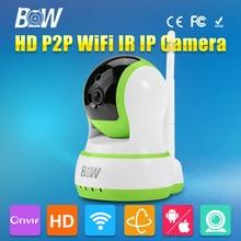 720P HD Wifi IP Camera Wireless Micro SD Card PTZ Two Way Audio Video Surceillance Security Camera Wi-Fi Onvif Night Vision