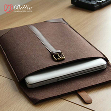 """Newest ! Fashion Laptop Cover Case Netbook For Retina Notebook Sleeve bag 11""""13""""15"""" Wool Felt Ultrabook Sleeve Pouch Bag"""