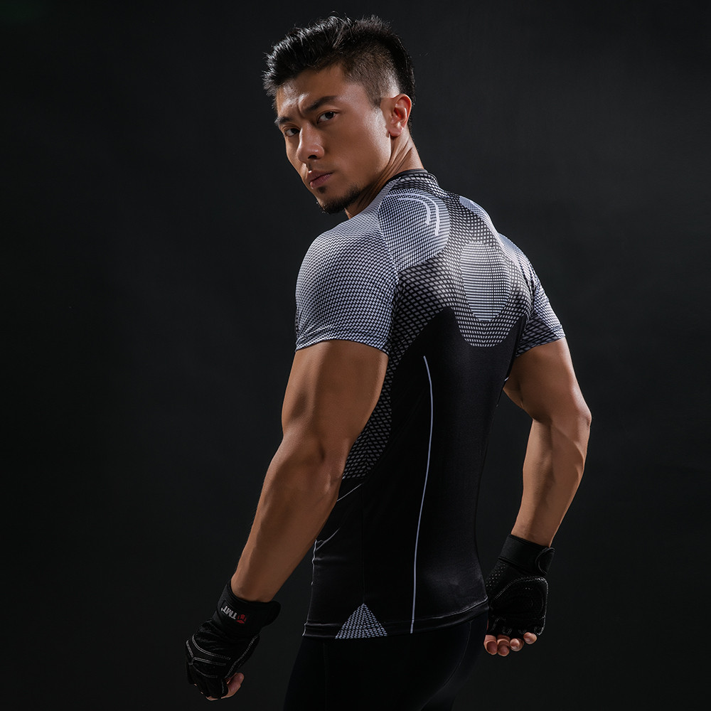 Punisher 3D Printed T-shirts Men Compression Shirts Long Sleeve Cosplay Costume crossfit fitness Clothing Tops Male Black Friday 80