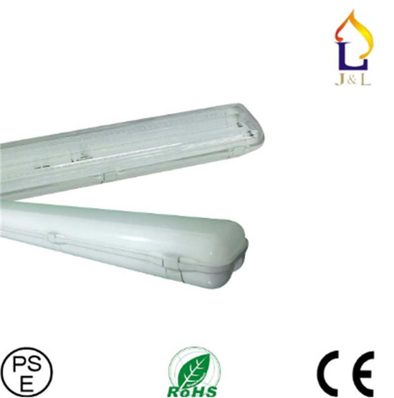 4pcs/lot led Tri-proof light for car wash,warehouse,cold storage,food processing LED batten light 38W/78W/96W 2ft/4ft/5ft application of pulsed ultra violet light in food processing