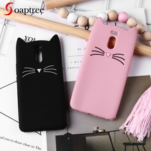 Soaptree Silicone Case For Meizu M6 M5S M5 Mini M6S M3S M5C Cute Cat Ear Cartoon Cases M3 Note Protective Cover