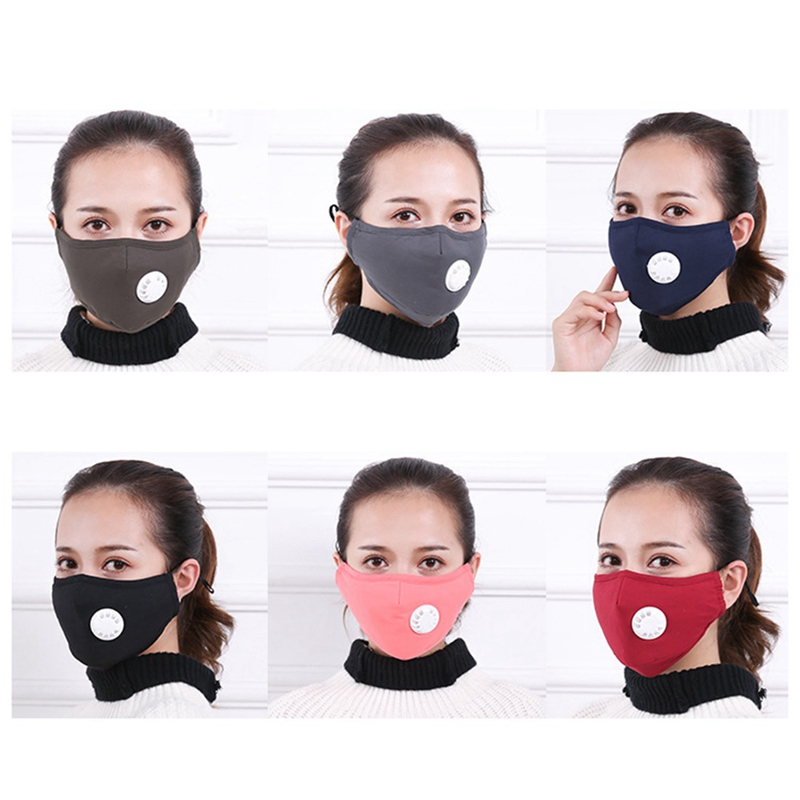 Anti Cotton Allergy Masks travel Cycling Mouth Washable Dust Reusable asthma Respirator Unisex Mask Pollution Muffle For
