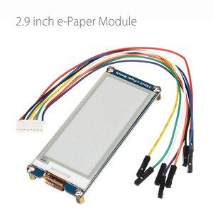 Image 1 - Pantalla de tinta electrónica de 2,9 pulgadas Módulo de papel electrónico interfaz SPI actualización parcial para Arduino Raspberry Pi