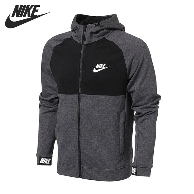 793e2c3c0a8d Original New Arrival NIKE NSW AV15 HOODIE FZ FLC Men s Jacket Hooded  Sportswear-in Running Jackets from Sports   Entertainment on Aliexpress.com
