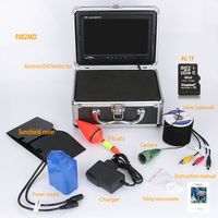 F002MD EU 20 30M 7 Color Digital 1000TVL Finder HD Recorder With 4G TF Card Waterproof