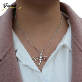 Dragonfly Shape Collares Necklace