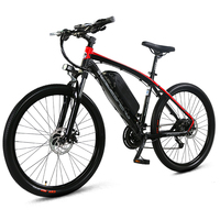 26 Electric Bicycle Mountain Bike 48V 10A 27 Speeds E Bike Adopt Aluminum Alloy Frame Both