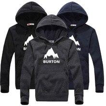 Burton Skateboard Hoodies Men Hooed Pullover Teenagers Streetwear Clothes Boys CR0218