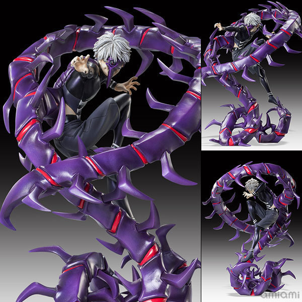 NEW hot 28 cm Kaneki Ken Tokyo Ghoul generazione di scuro Muyan action figure toys collection NESSUNA SCATOLA Di Natale regalo new hot 18cm one piece donquixote doflamingo action figure toys doll collection christmas gift with box minge3