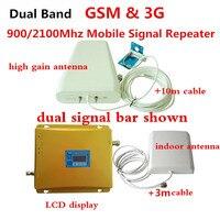 Двухдиапазонный усилитель ретранслятор GSM, 3g GSM 900 мГц МГц UMTS мГц 2100 сотовый телефон WCDMA ретрансляторы сигнала 3g усилители домашние