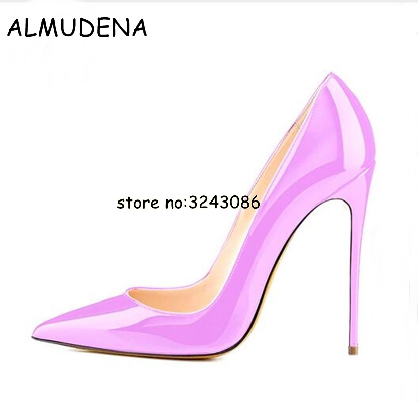 Pink Black Nude Leather Pointed Toe Sexy High Heels Stiletto Patent Leather Suede Woman Pumps Shoes Wedding Party Dress Shoes newest patent leather high heel shoes sexy pointed toe woman pumps 2017 leopard printed stiletto heels thin heels dress shoes