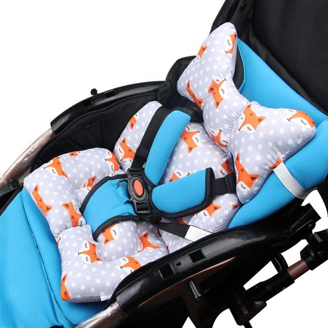 Children Car Safety Seat Cushion Stroller Pad Baby Full Body Support Sleeping Mattresses Pillow