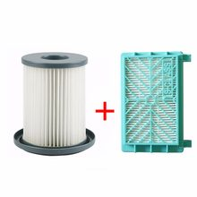 2 Buah/Set Vacuum Cleaner HEPA Filter Element + Air Filter untuk Philips FC8720 FC8724 FC8732 FC8734 FC8736 FC8738 FC8740 FC8748(China)