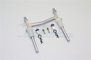Image 4 - 1/10 AXIAL SMT10 90055 aleación trasera de aluminio poste del cuerpo con CLIP y montaje 1 Juego de PC MJ201R