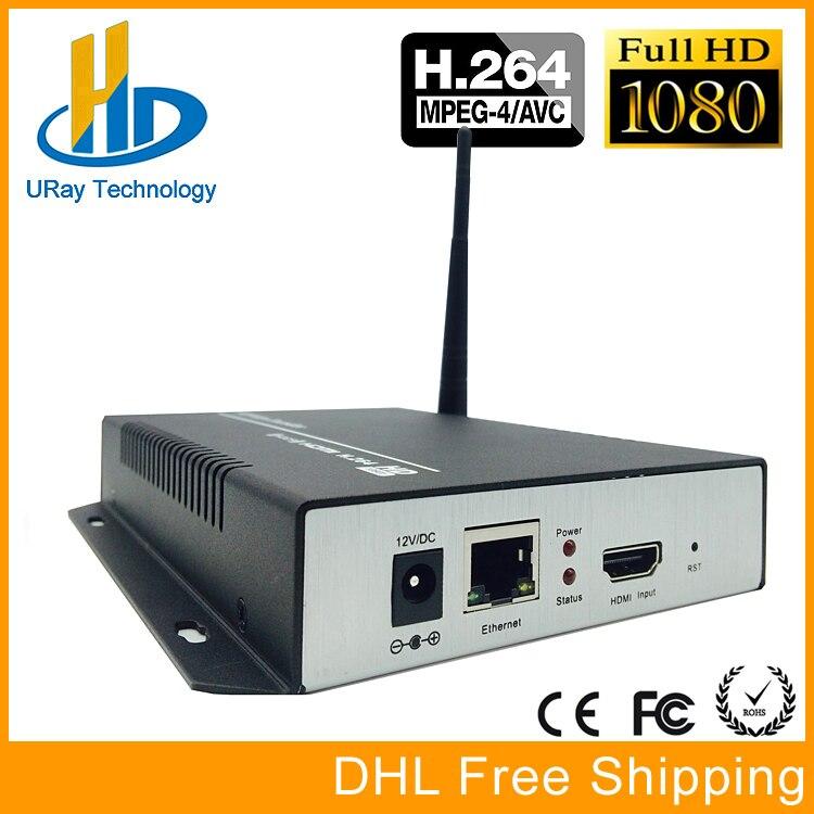 H.264 /H264 /H 264 HDMI To IP Video Encoder Converter 1080P HD Wireless Video Audio Transmitter With RTSP RTMP HLS UDP ONVIF