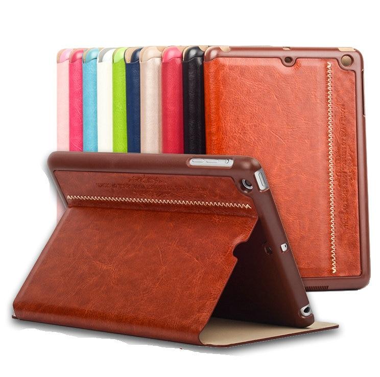 Original New arrival Ultra thin retro leather case for Ipad Mini 1 2 3 flip cover with sleep function ipadmini mini3 cases