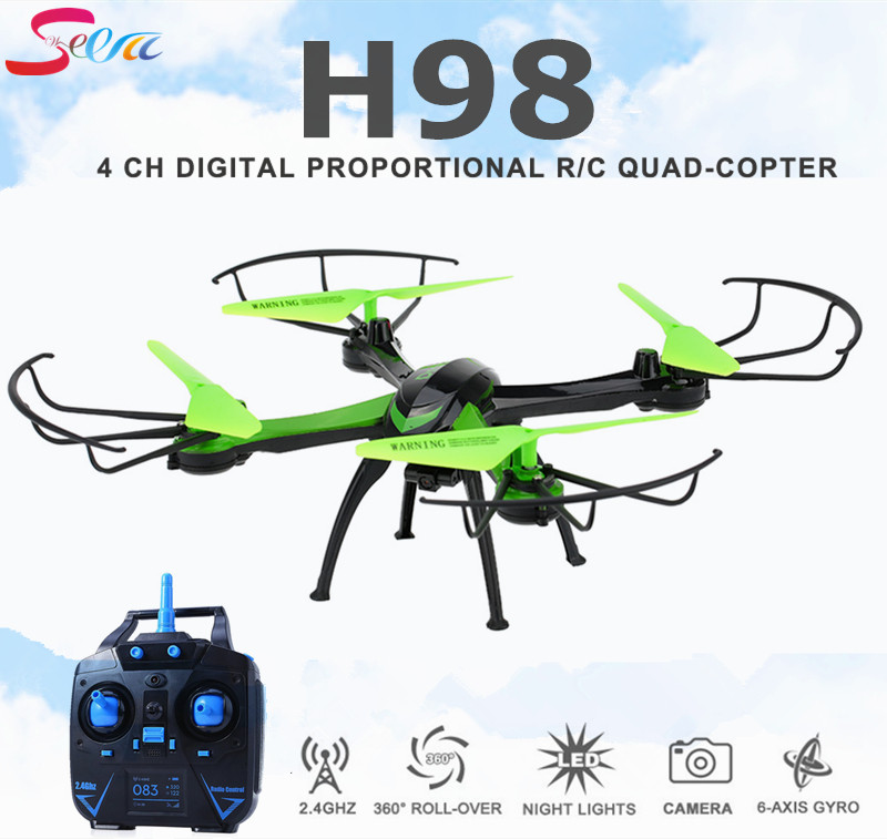 Jjrc H98 Rc Quadcopter With Camera HD Flying Camera Helicopter Professional Dron Headless Mode Copter Remote Control Drone wltoys q222 quadrocopter 2 4g 4ch 6 axis 3d headless mode aircraft drone radio control helicopter rc dron vs x5sw