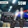 2Pcs Hid Xenon Ballast Canbus Xenon Blub 35W 12V 6000K Lamp H7 Xenon Hid Headlight Kit