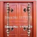 350mm wood glass door pulls high quality antique zinc alloy KTV Office Hotel Factory  Home wood door handles
