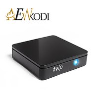 TVIP415 Smart TV Box Double WiFi HD Quad Core2.4G5G Linux Andro Système iptv Support de fixation H.265 Airplay DLNA 250 254