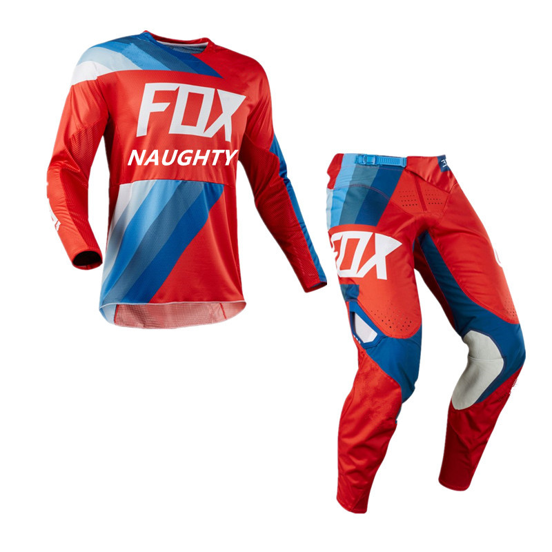 New 180-360 Motocross Protective Gear Suit MX Mountain Dirt Bike Jersey MTB BMX Motorcycle Cycling Pants Off-Road Racing Kits motorcycle suit mountain bike bmx racing suit mx pants karting protection outdoor sport cycling dh gp off road bmx motocross