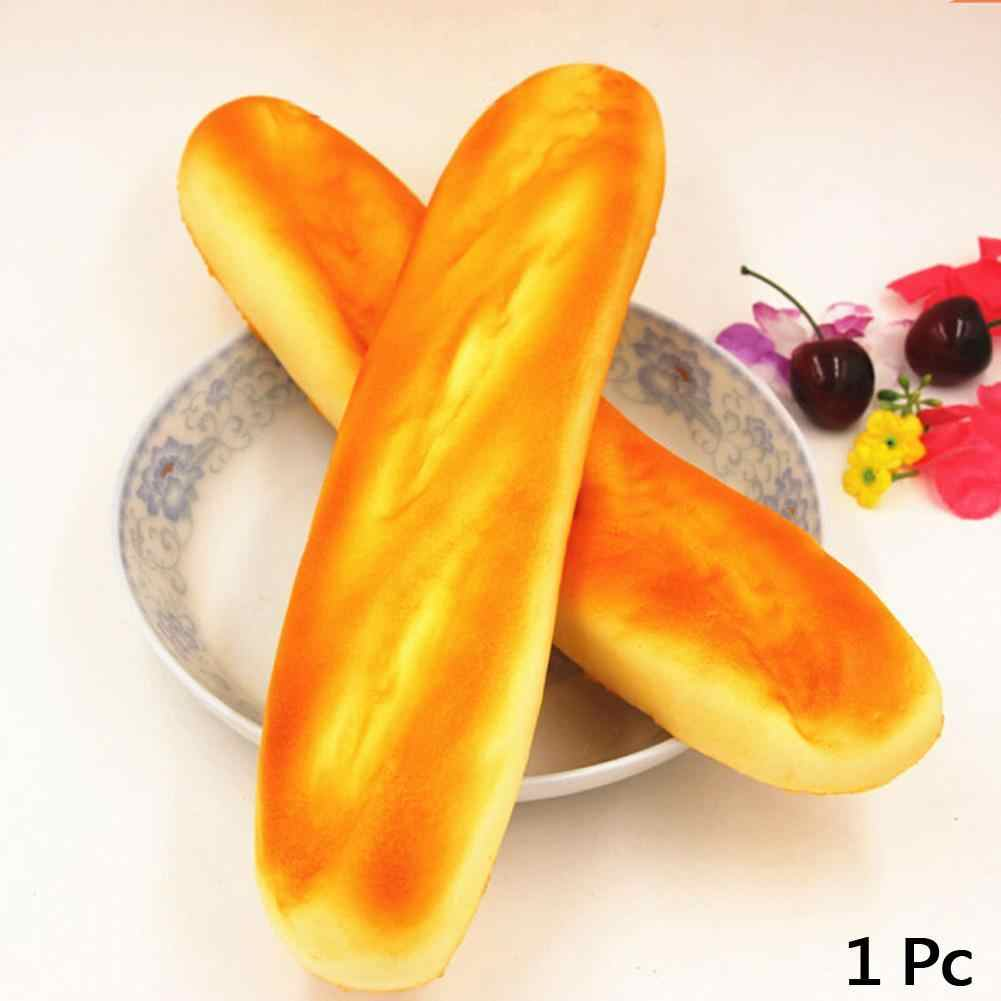 الفرنسية باكيت لطيف اسفنجي ارتفاع أحزمة هاتف لطيف جميل ضغط الإجهاد الاطفال هدية وسادة رغيف كعكة الخبز لعبة السحر